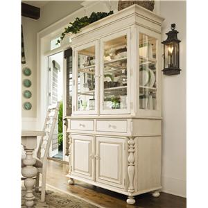 Morris Home Furnishings Pinehurst China Cabinet
