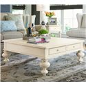 Morris Home Pinehurst Put Your Feet Up Table - Item Number: 996801