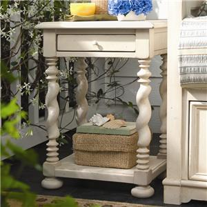 Morris Home Furnishings Pinehurst Sweet Tea Side Table
