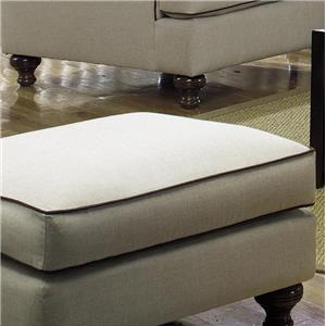 Paula Deen by Craftmaster P711700 Traditional Ottoman
