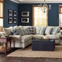 Paula Deen by Craftmaster P711700 2-Piece Sectional Sofa - Item Number: P711756BD+P711731BD-SIGNAL-10