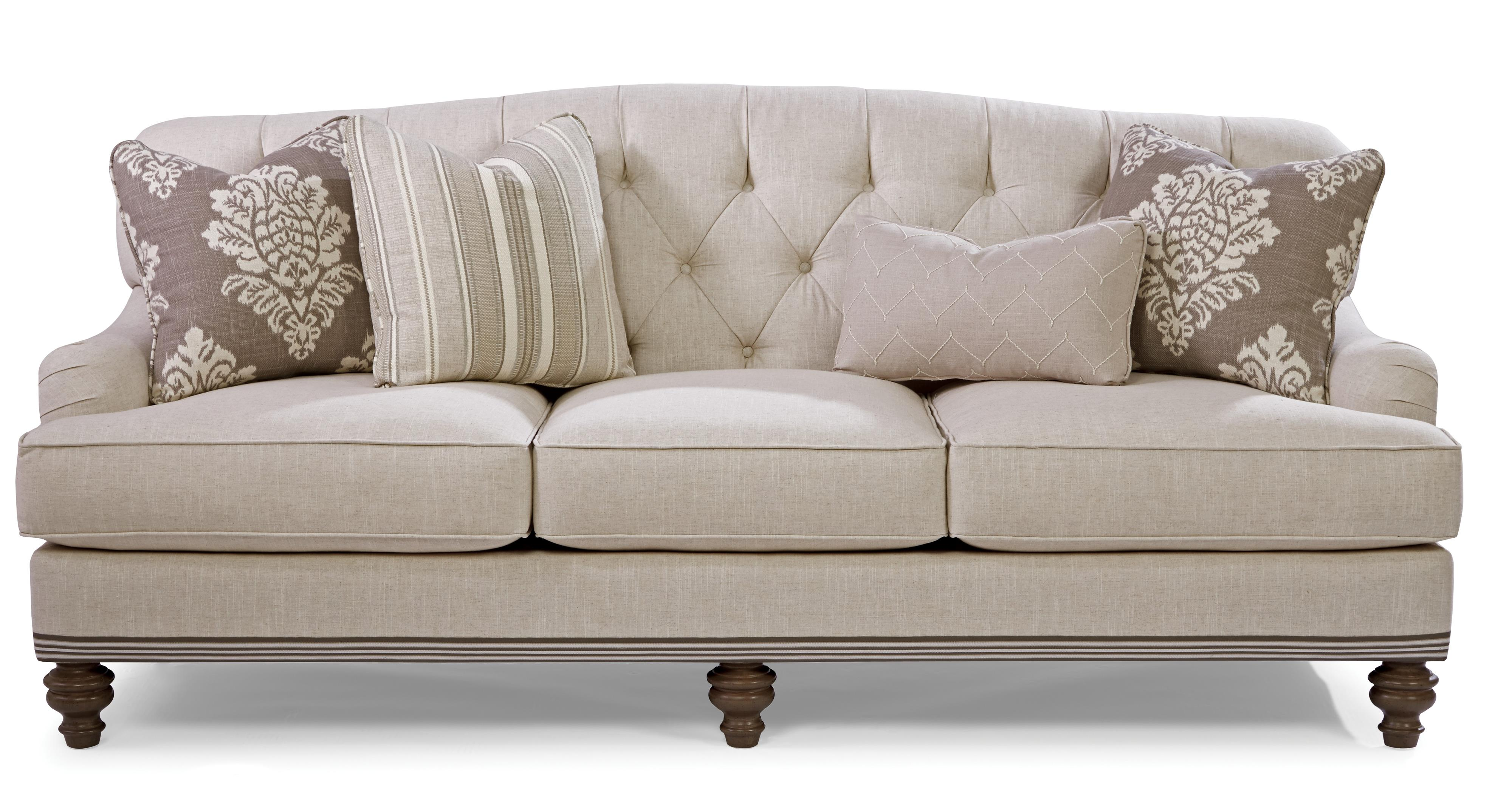 Paula Deen By Craftmaster P744900 Traditional Tufted Back