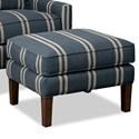 Paula Deen by Craftmaster Paula Deen Upholstered Accents Ottoman - Item Number: P080800BD-Coba-23