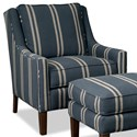 Paula Deen by Craftmaster Paula Deen Upholstered Accents Accent Chair - Item Number: P080810BD-Coba-23