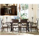 Paula Deen by Universal Down Home 8Pc Dining Room - Item Number: UNI1938PC