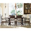Paula Deen by Universal Down Home 8Pc Dining Room - Item Number: UNI1938PC2