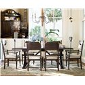 Paula Deen by Universal Down Home 9Pc Dining Room - Item Number: UNI1939PC