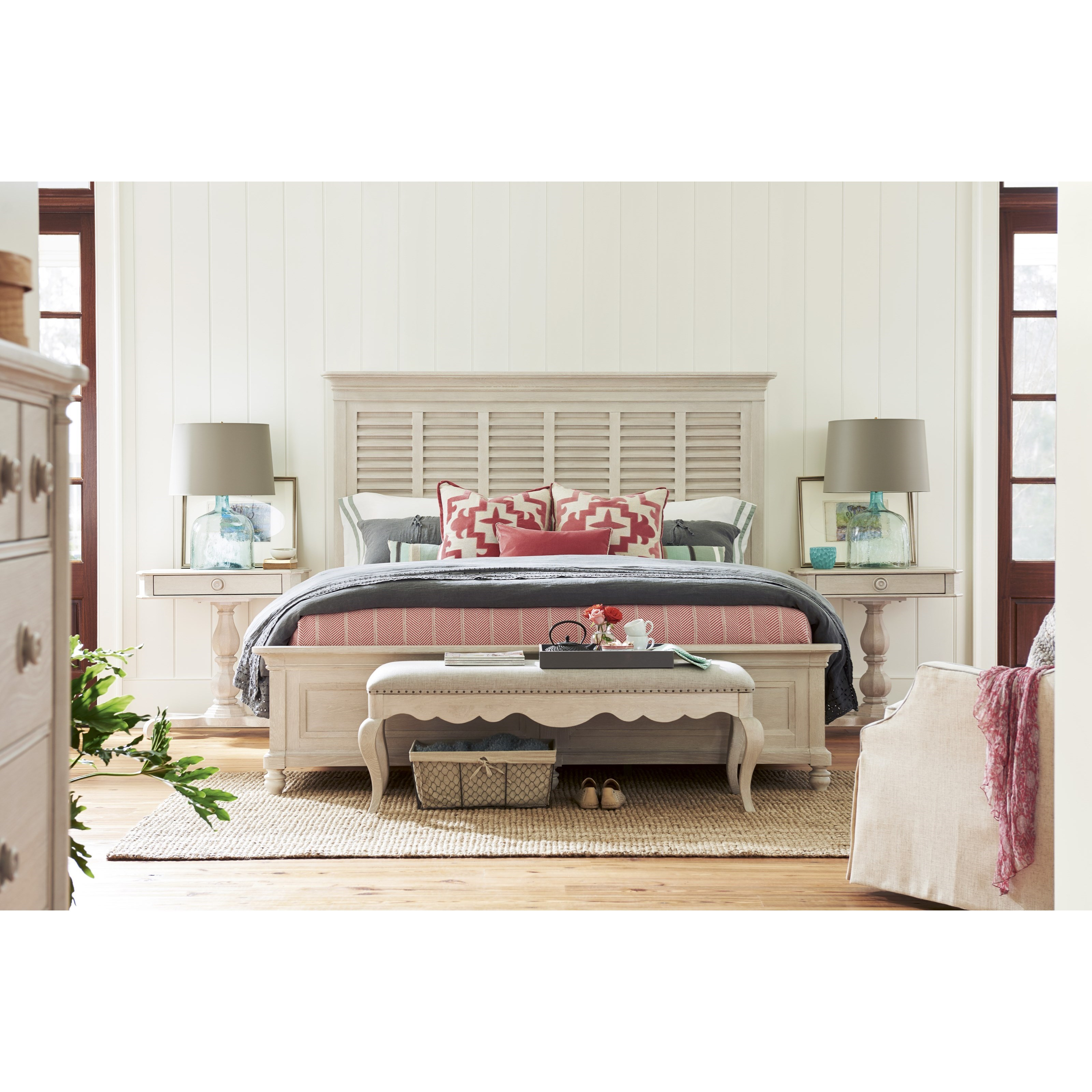 Paula Deen By Universal Bungalow 795210b Queen Cottage Bed Baer 39 S Furniture Panel Beds