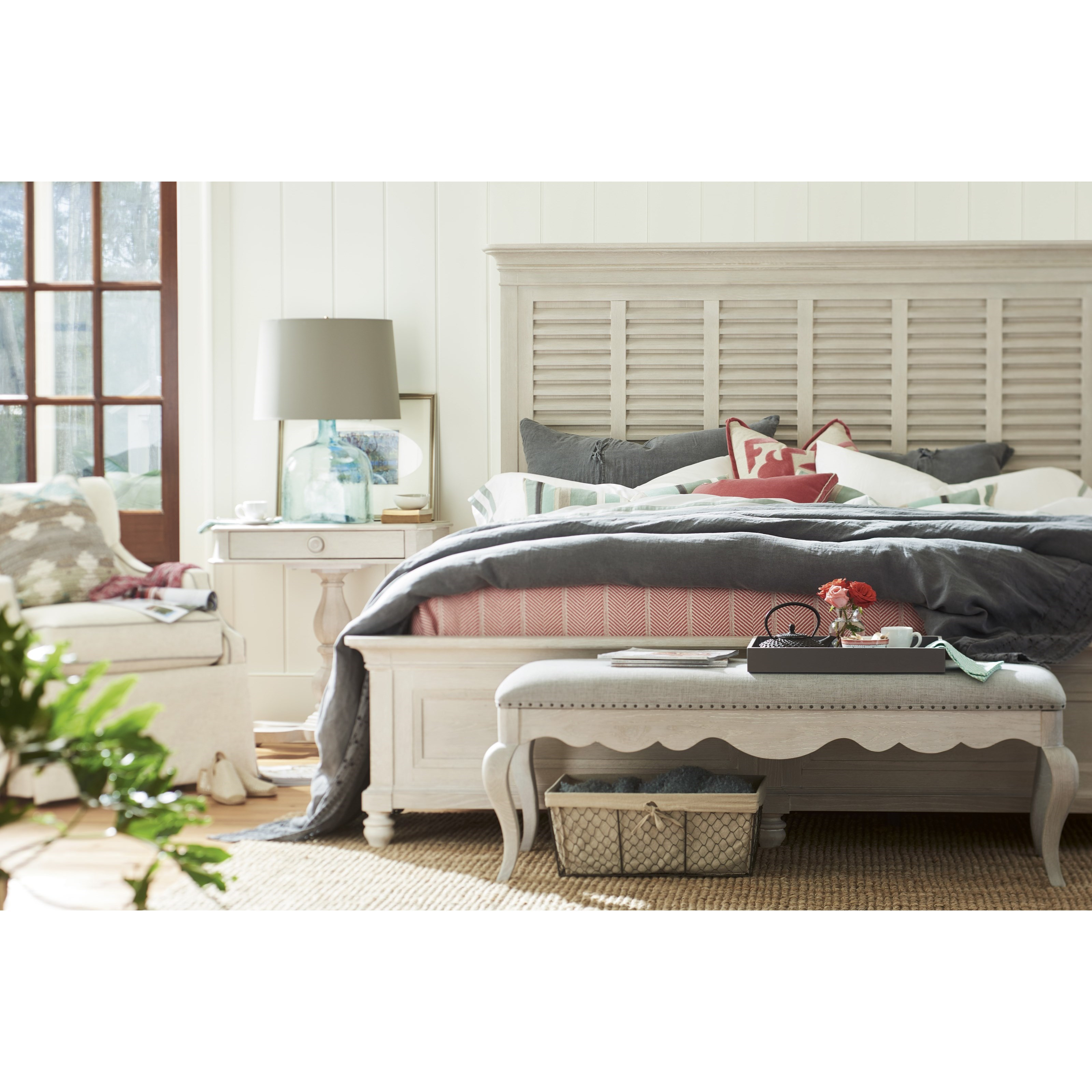 Paula Deen By Universal Bungalow 795220b King Cottage Bed