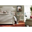 Paula Deen by Universal Bungalow Veranda Upholstered King Bed with Nail Head Trim
