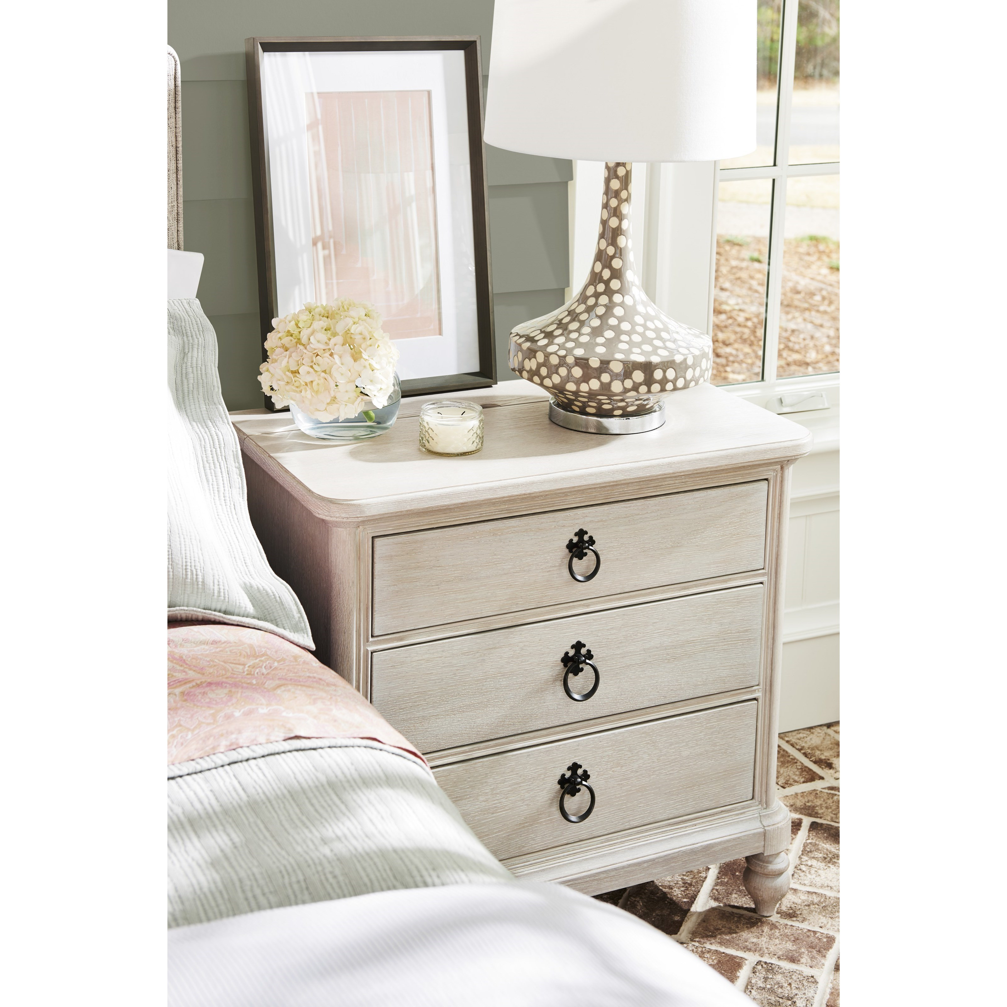 Paula Deen By Universal Bungalow 795350 Cottage Nightstand