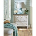 Paula Deen by Universal Bungalow Cottage Bedside Chest with Stone Top