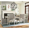 Paula Deen by Universal Cottage Seven Piece Dining Set - Item Number: 795653+2x637+4x626-RTA