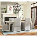 Paula Deen by Universal Bungalow Seven Piece Dining Set - Item Number: 795653+6x637