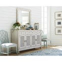 Paula Deen by Universal Bungalow Cottage Sideboard with Wine Bottle Storage