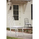 Paula Deen by Universal Bungalow Keeping Room Upholstered Chair with Intricate Chair Back Design