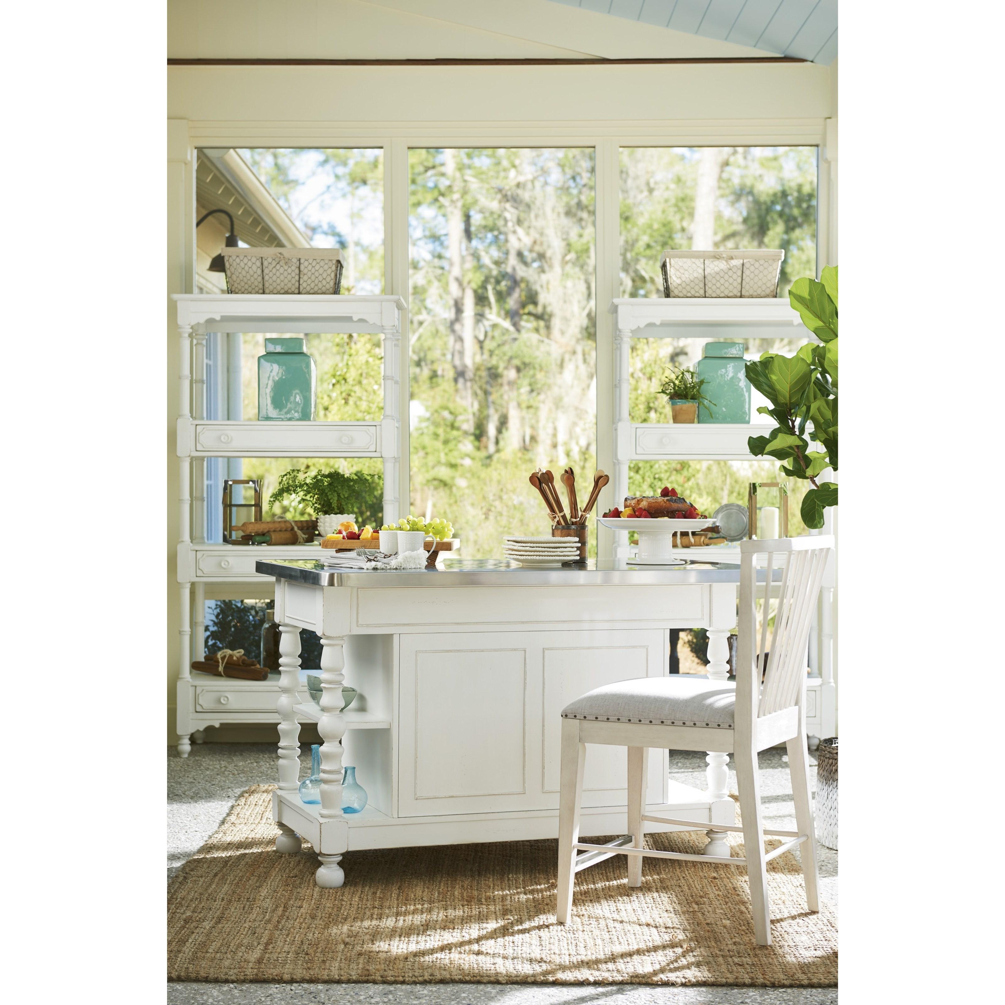 Paula Deen By Universal Bungalow Cottage Kitchen Island