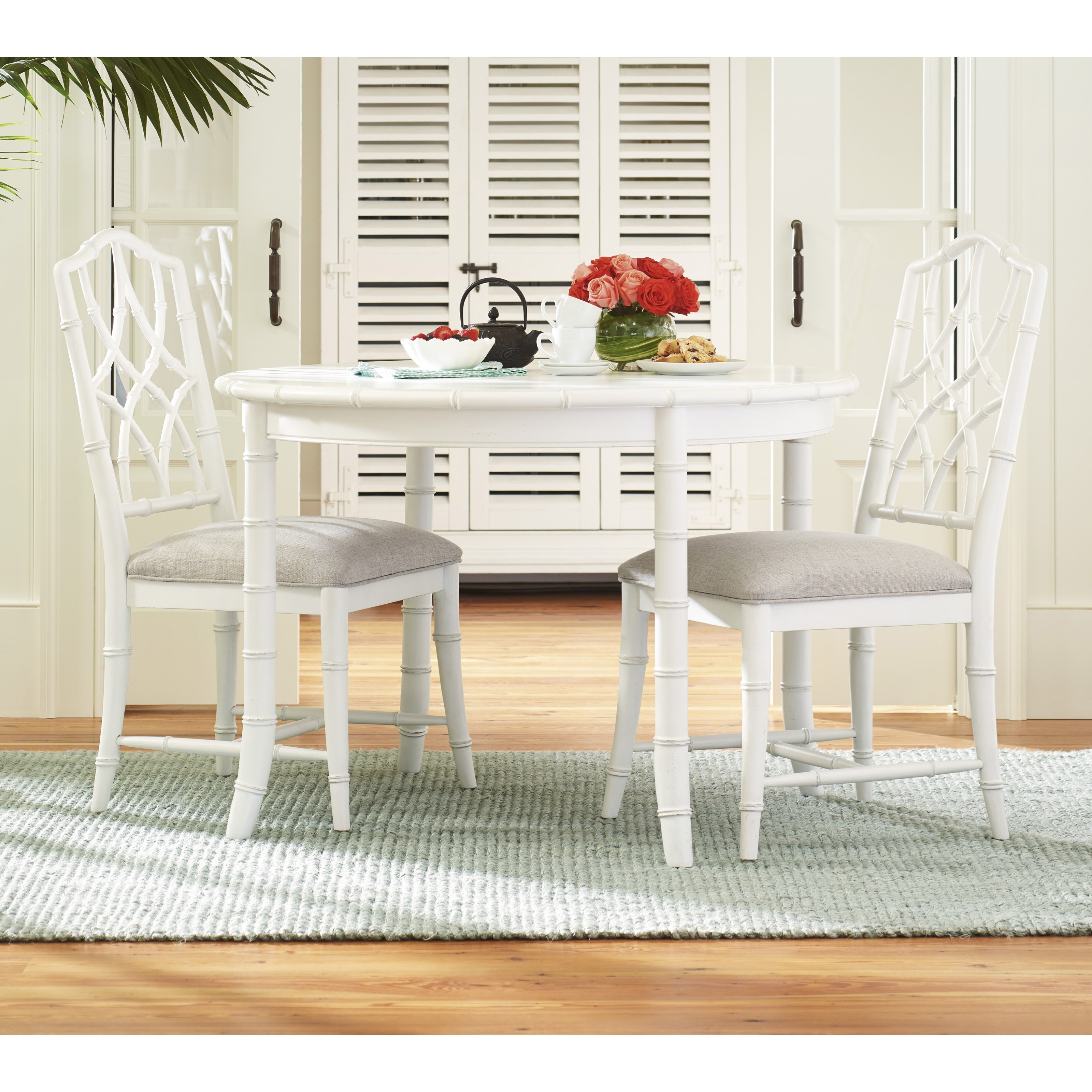 Paula Deen by Universal Bungalow Three Piece Dining Set - Item Number: 795A650+2x624-RTA