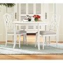 Paula Deen by Universal Cottage Three Piece Dining Set - Item Number: 795A650+2x624-RTA