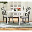 Paula Deen by Universal Cottage Three Piece Dining Set - Item Number: 795A650+4x795B624-RTA