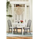 Paula Deen by Universal Bungalow Keeping Room Table with Bamboo Inspired Trim