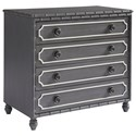 Paula Deen by Universal Bungalow Bamboo Four Drawer Hall Chest