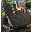 Paula Deen Darling  Darling Outdoor Swivel Lounge Chair - Item Number: 526755348