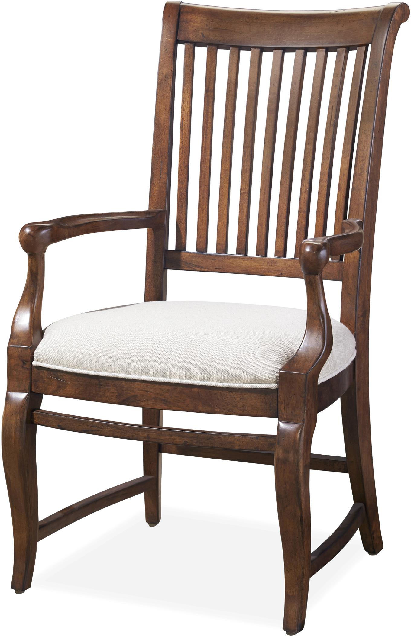 Paula Deen by Universal Dogwood Dogwood Arm Chair - Item Number: 596635-RTA