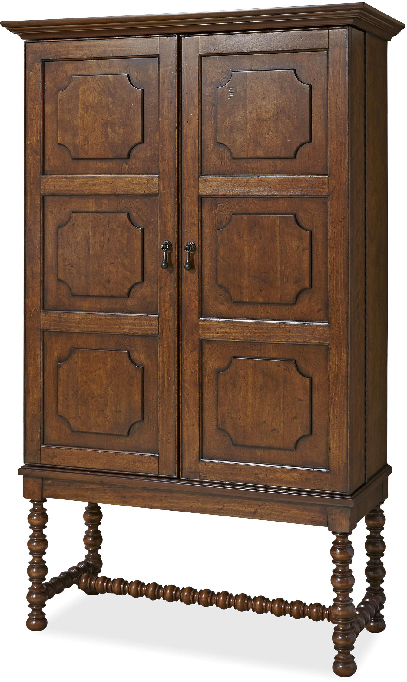 "Paula Deen by Universal Dogwood ""A Guy Walks Into A Bar"" Cabinet - Item Number: 596685"
