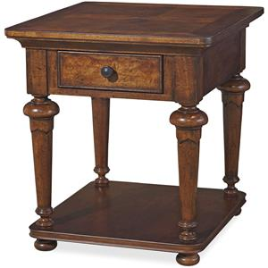 Universal Dogwood End Table