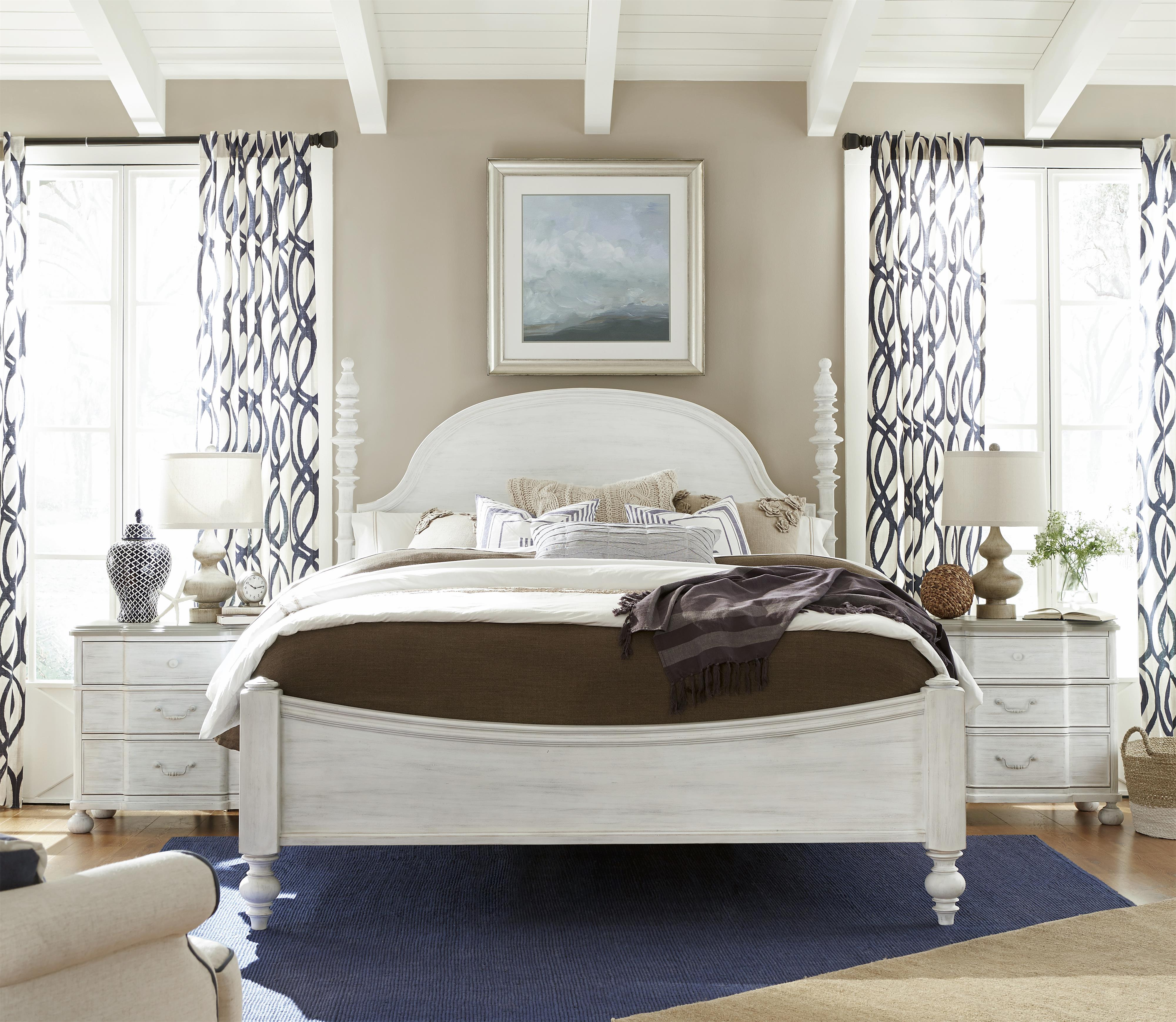 Paula Deen by Universal Dogwood King Bedroom Group - Item Number: 597 K Bedroom Group 2