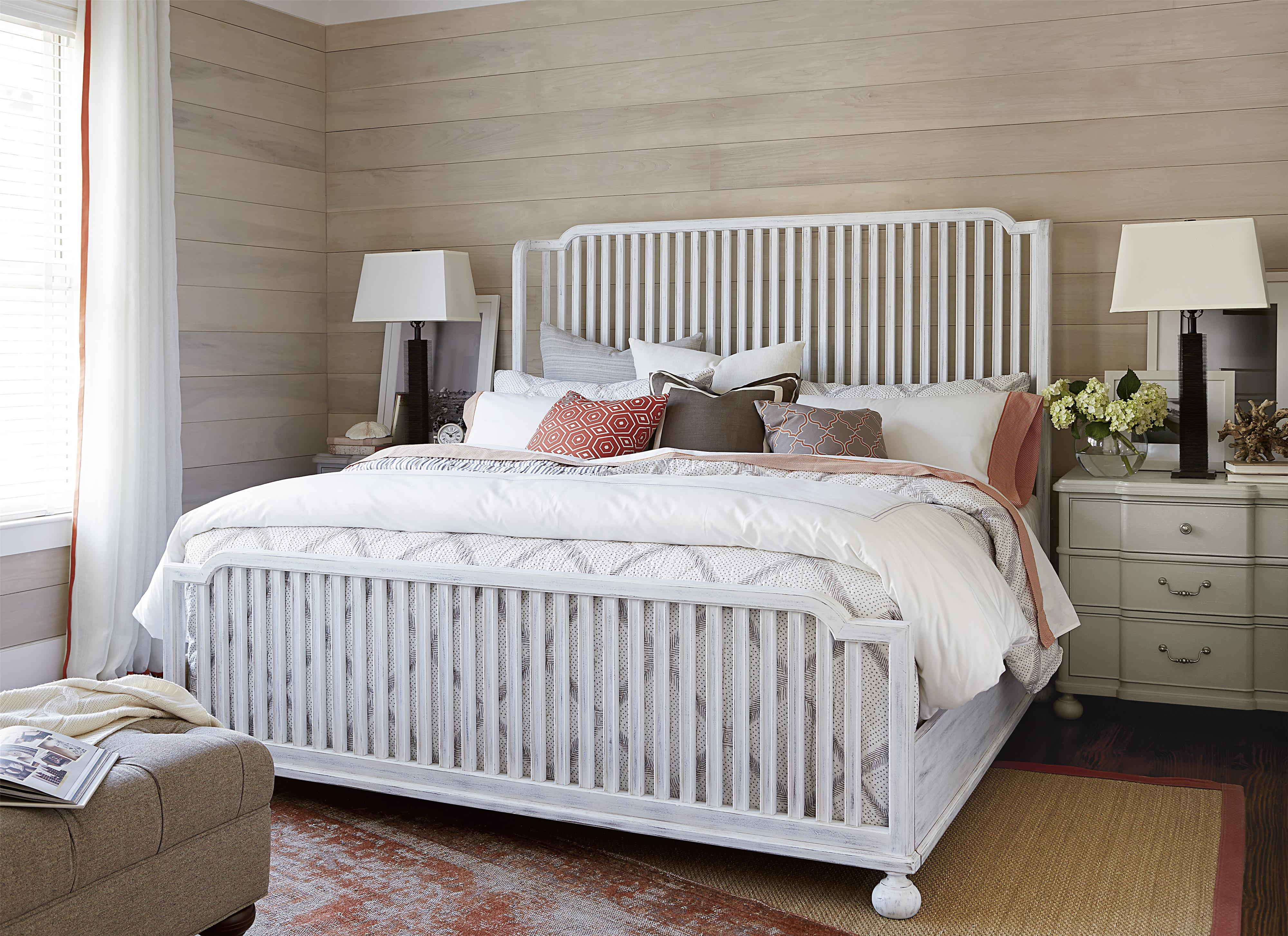 Paula Deen by Universal Dogwood Queen Bedroom Group - Item Number: 597 Q Bedroom Group 4