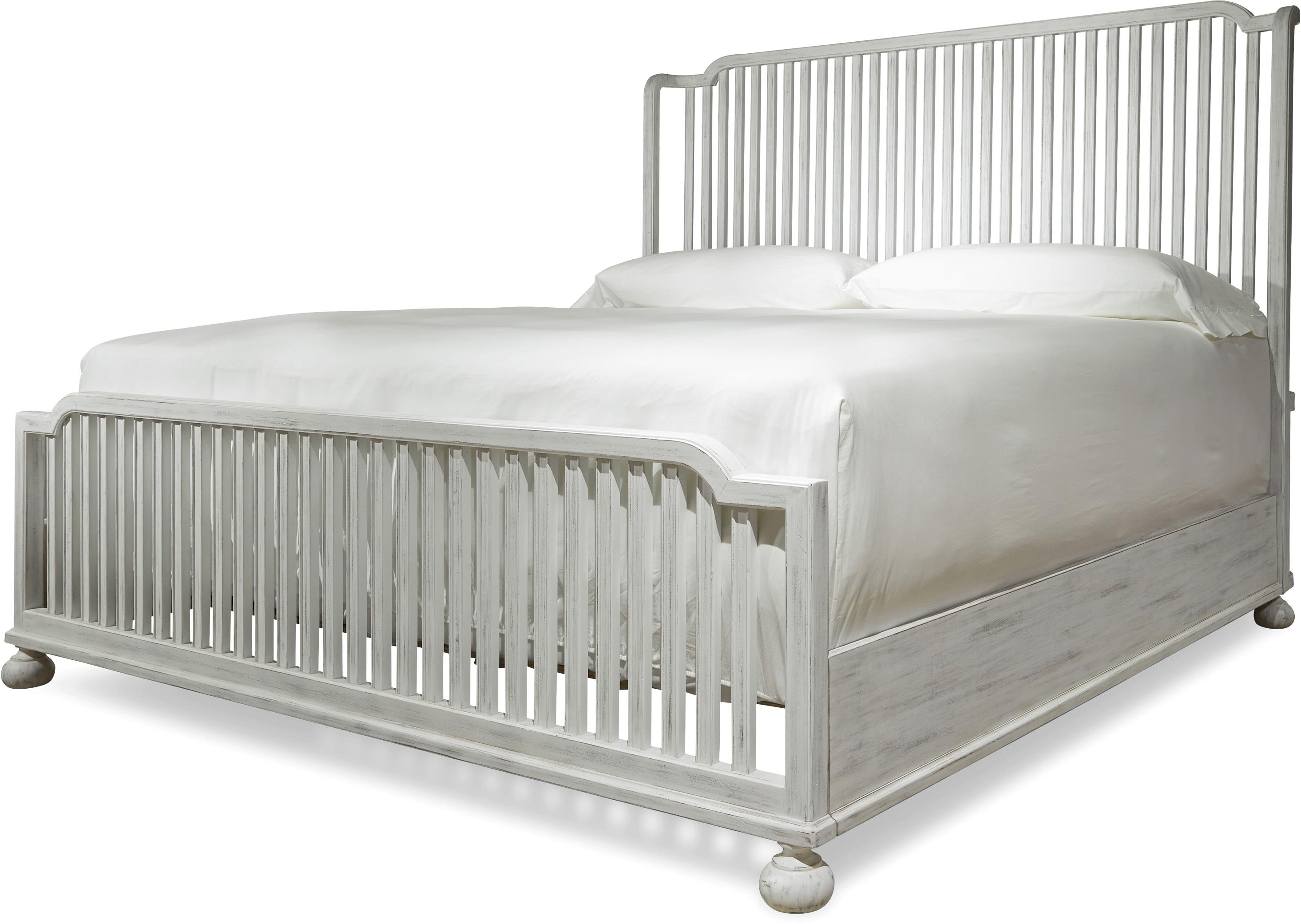Paula Deen by Universal Dogwood The Tybee Island Queen Bed - Item Number: 597250B