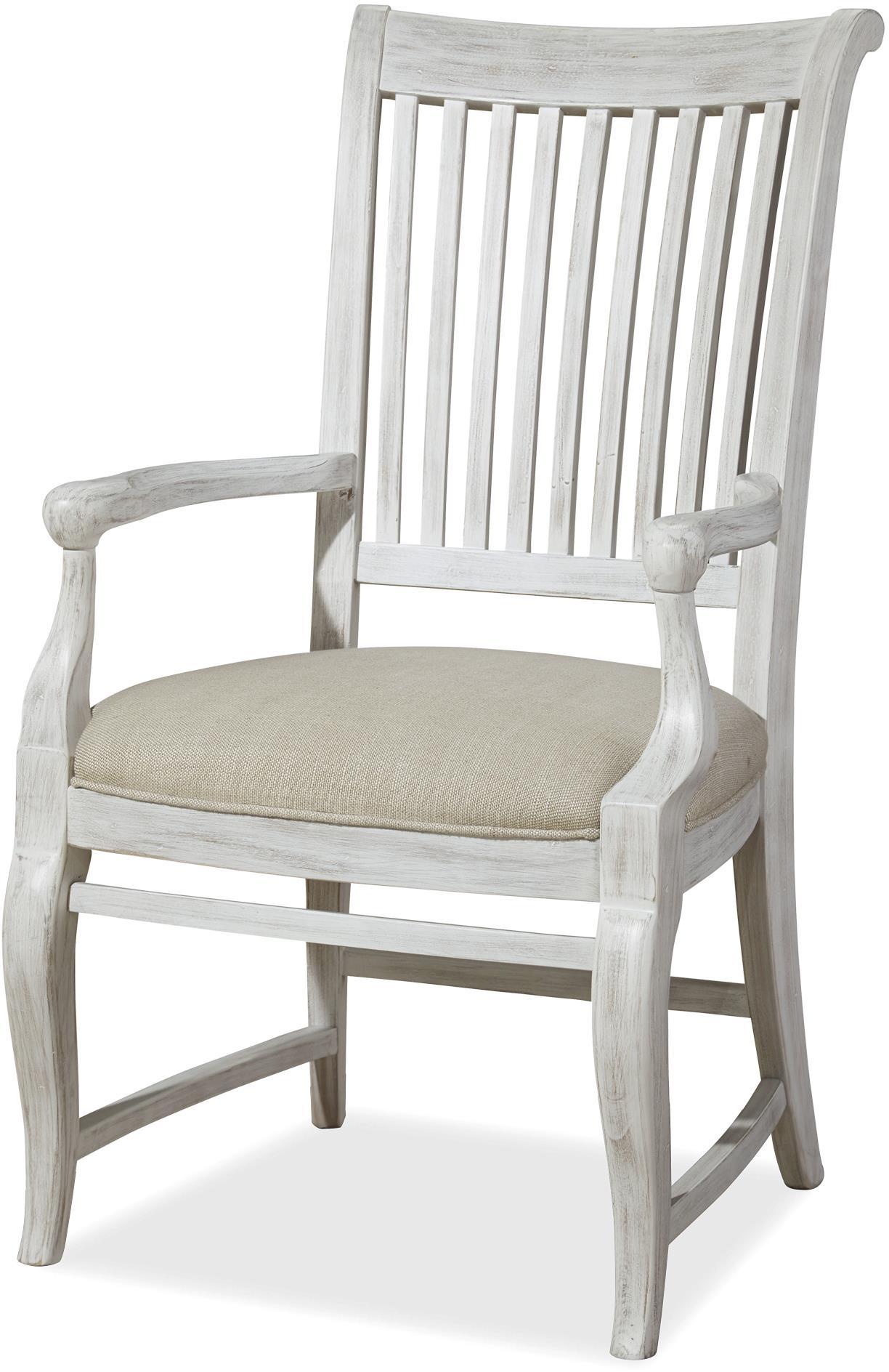 Paula Deen by Universal Dogwood Dogwood Arm Chair - Item Number: 597635-RTA
