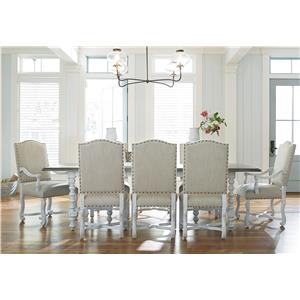 Universal Dogwood 9 Piece Dining Set
