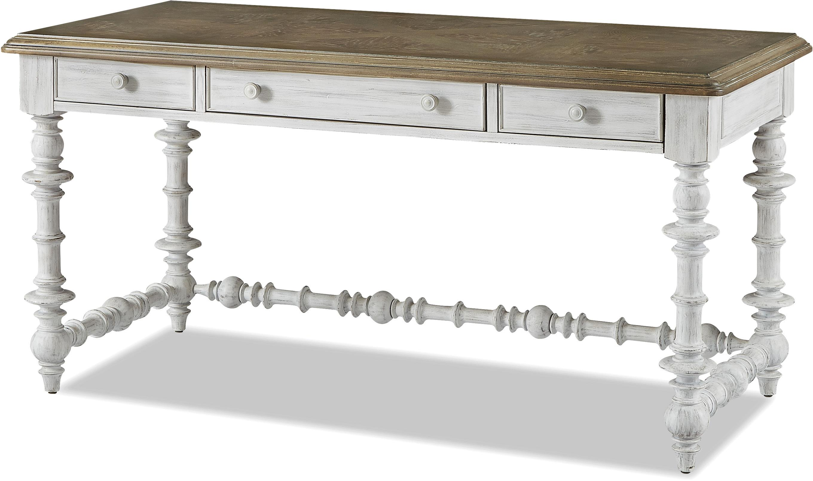Paula Deen By Universal Dogwood The Note Worthy Desk With Spool Turn Detail Dream Home