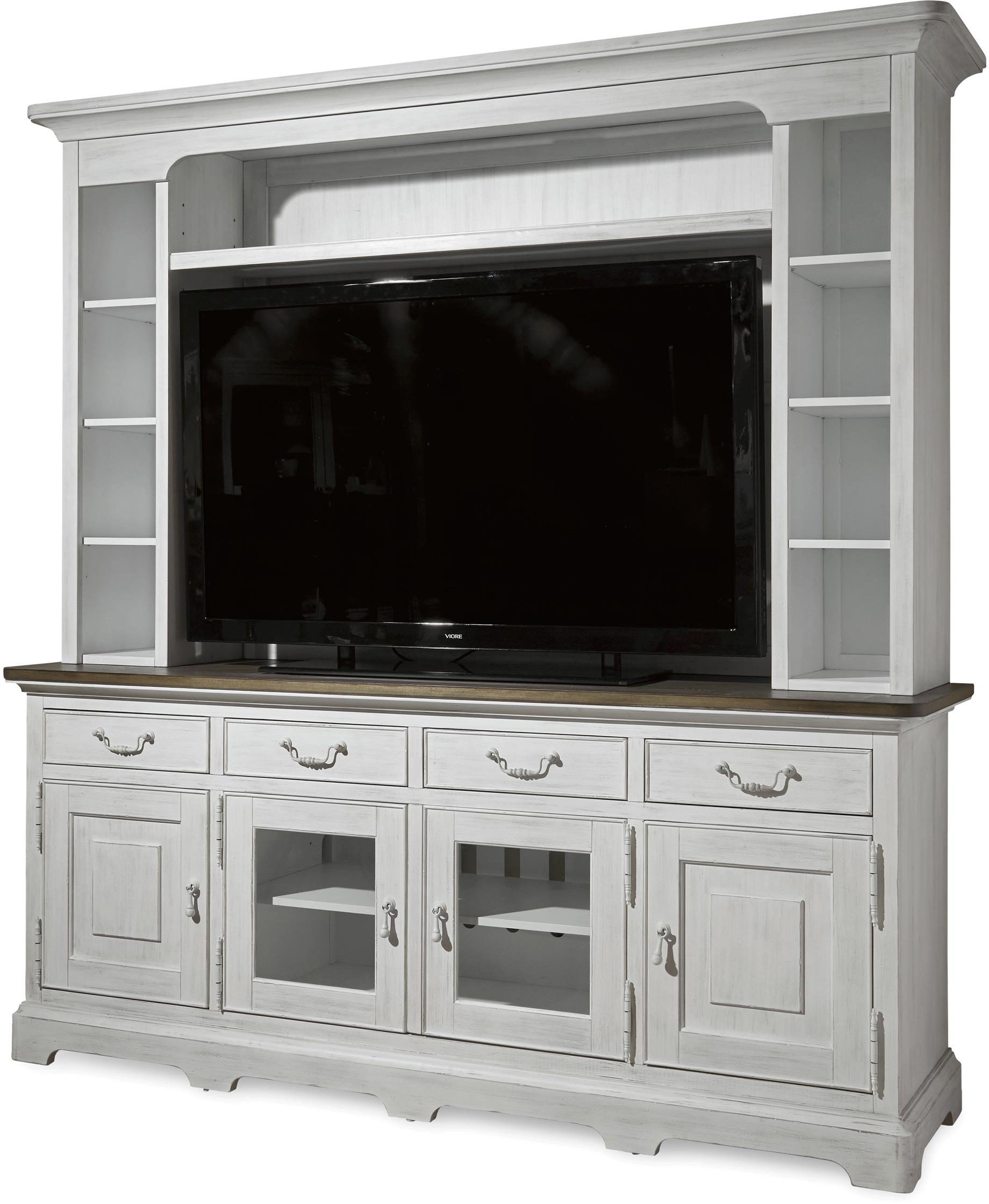 Universal Dogwood Console with Deck - Item Number: 597A966C