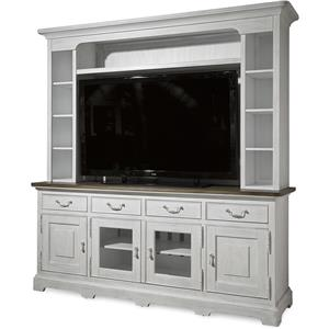 Universal Dogwood Console with Deck