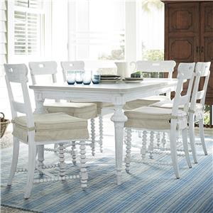 Universal Dogwood 7 Piece Dining Set