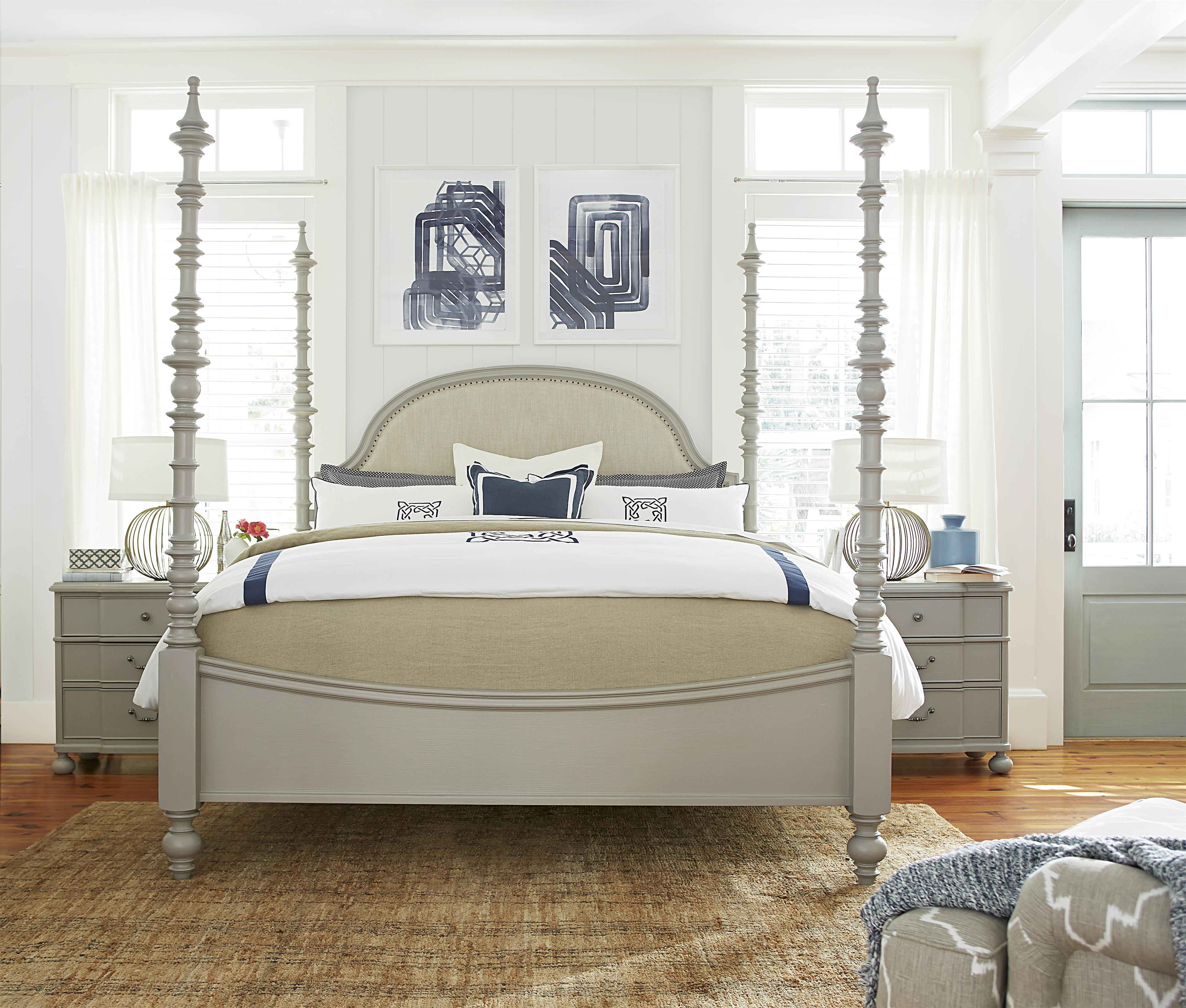 Paula Deen by Universal Dogwood King Bedroom Group - Item Number: 599 K Bedroom Group 2