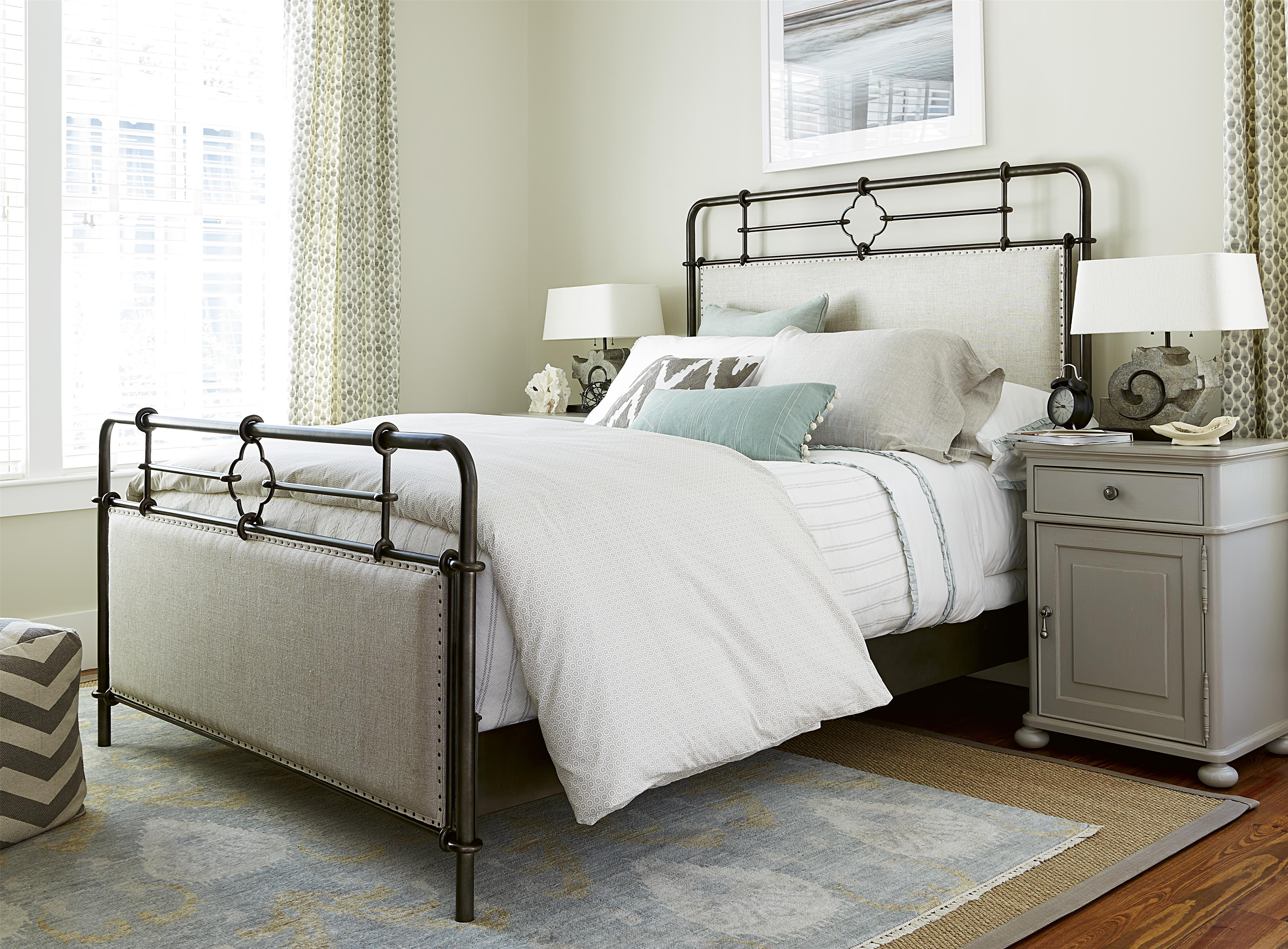 Paula Deen by Universal Dogwood Queen Bedroom Group - Item Number: 599 Q Bedroom Group 5