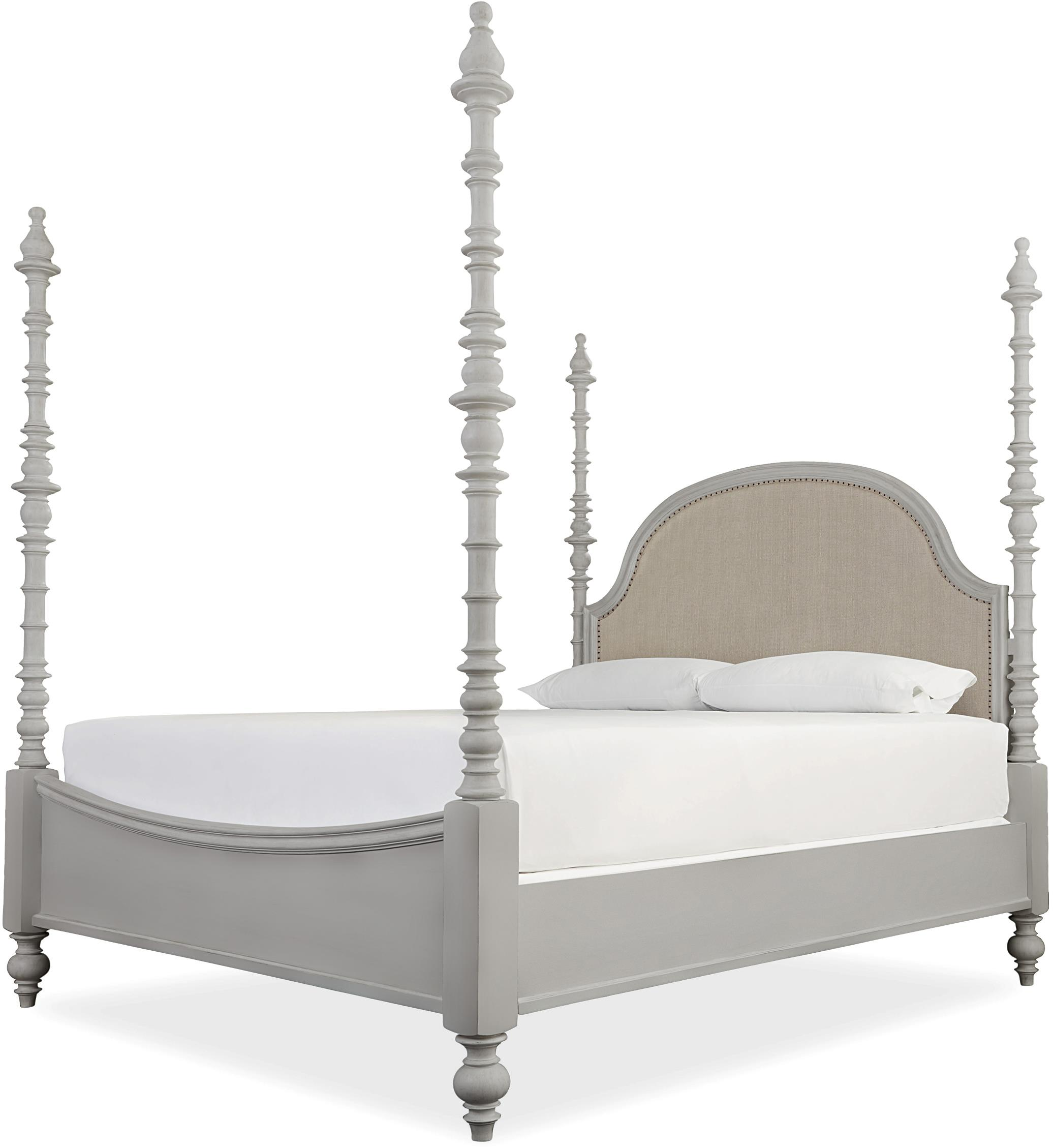 Paula Deen by Universal Dogwood The Dogwood King Bed - Item Number: 599290B