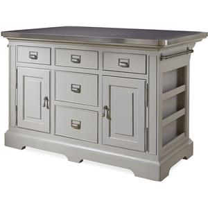 Morris Home Furnishings Darling Darling Kitchen Island
