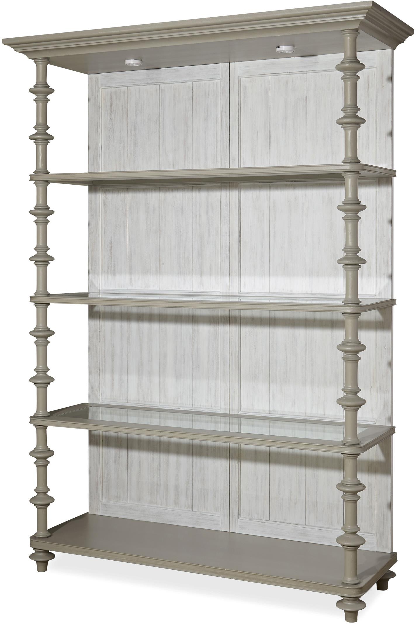 Paula Deen by Universal Dogwood The Debonaire Etagere - Item Number: 599850