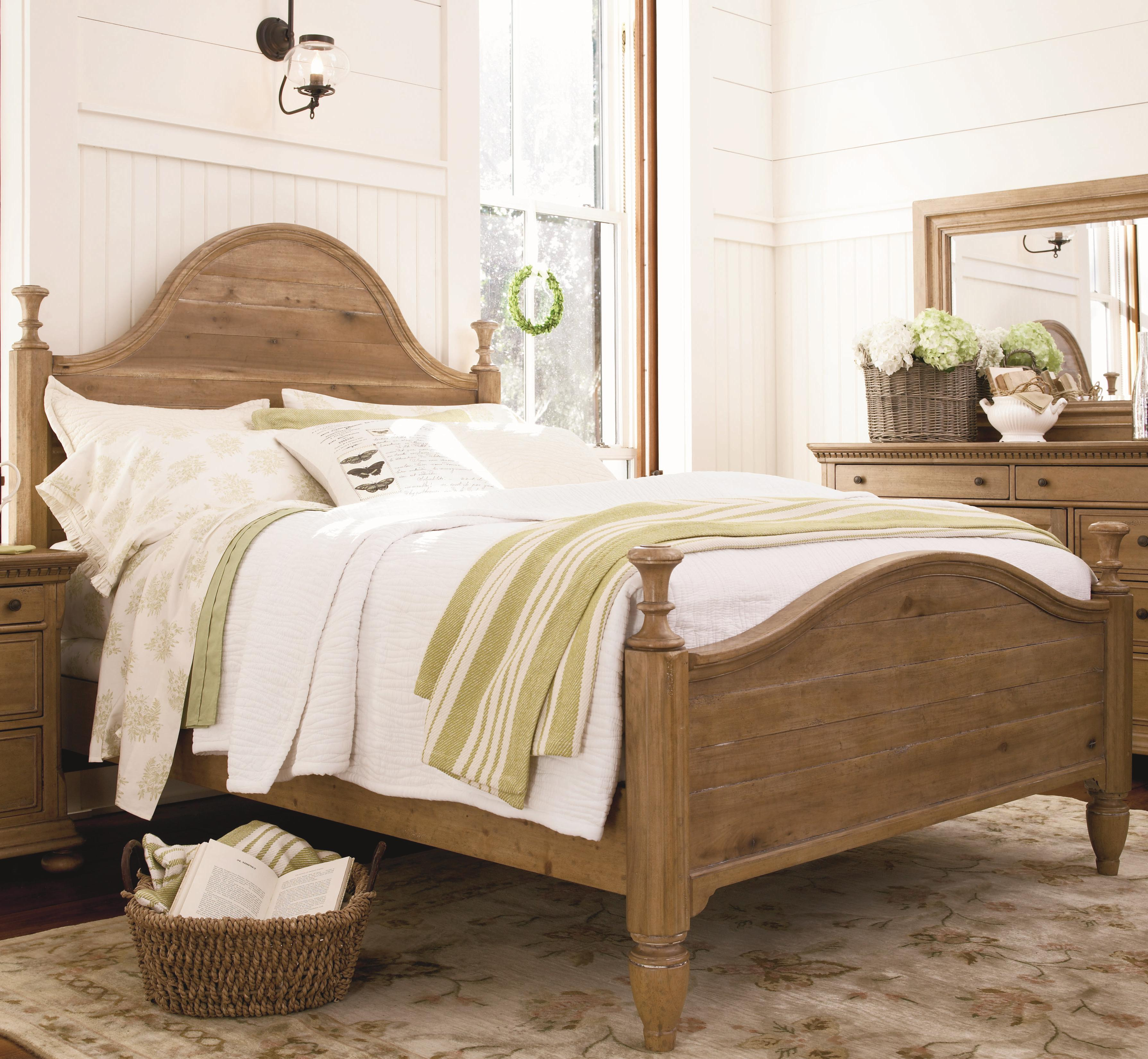 Paula Deen by Universal Down Home King Bed - Item Number: 192290+F+R