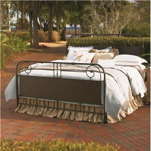 Universal Down Home King Garden Gate Bed
