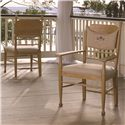 Universal Down Home Arm Chair with Panel Back - Shown with Down Home Side Chair