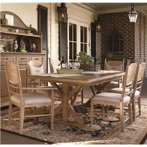 Paula Deen by Universal Down Home 5 Pc Family-Style Table w/ Side Chairs