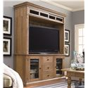 Paula Deen by Universal Down Home 70-inch Entertainment Console with 3 Drawers - Shown with Bridge Unit