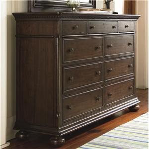 Morris Home Furnishings Pine Bluff Pine Bluff 8 Drawer Dresser